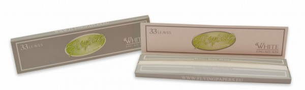 Flying Papers white King Size Slim drehpapier