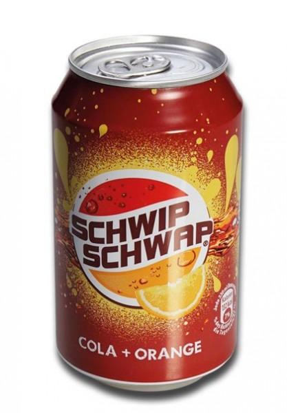 Versteckdose Getränkedose Cola Orange