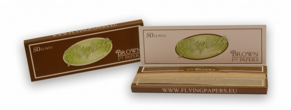 Flying Papers brown King Size Slim
