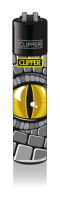 CLIPPER-R-Feuerzeug-Reptilian-Eyes-Yellow