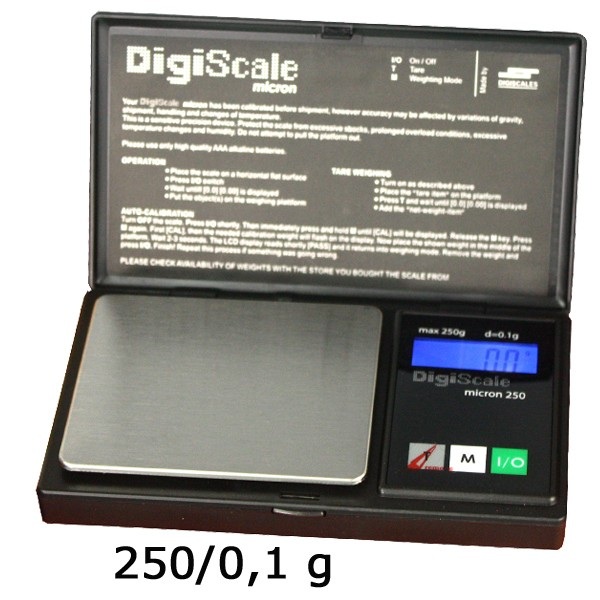 Digiscale Micron 250-250g/0.1g