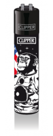 CLIPPER-R-Feuerzeug-Astronaut-Animals-Ape58827bca5ff1b