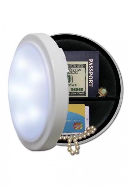 Wandlampe Attrappe, funktionstüchtig, mit Versteck