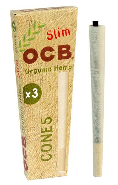 OCB Organic-Hemp Slim Cones