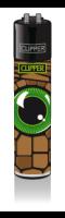 CLIPPER-R-Feuerzeug-Reptilian-Eyes-Green